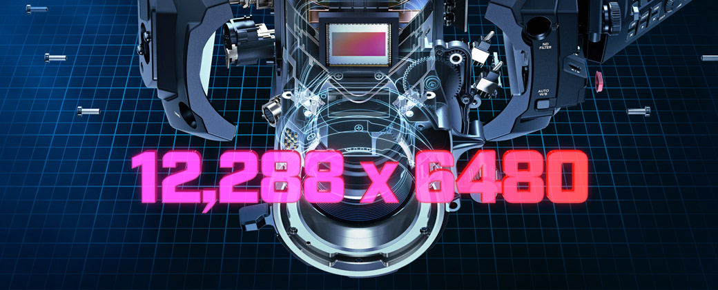 Cinematic Super 35 12K Sensor