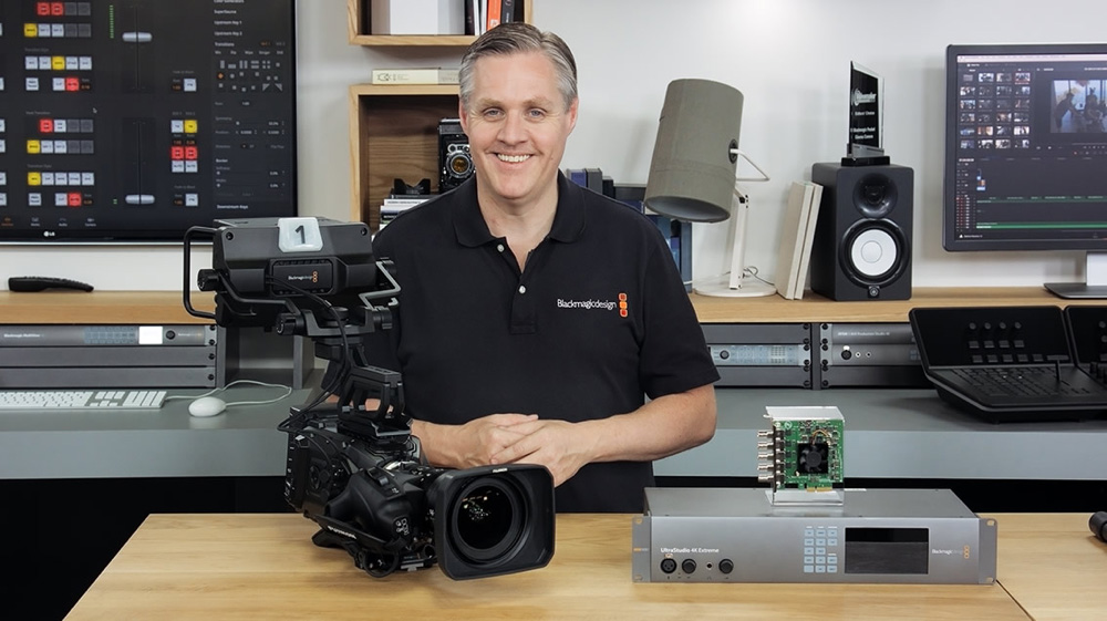 Introducing Blackmagic URSA Studio Viewfinder