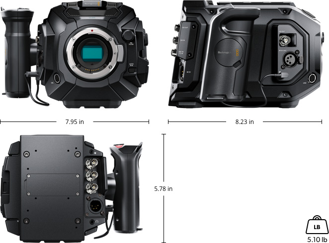 Blackmagic Ursa Mini Pro Tech Specs Blackmagic Design