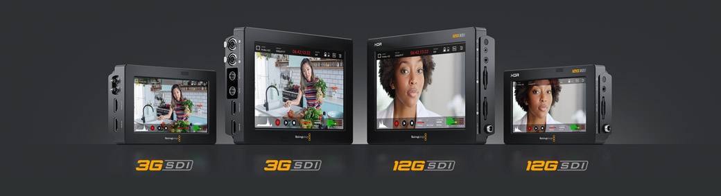 Four Great Blackmagic Video Assist Models!