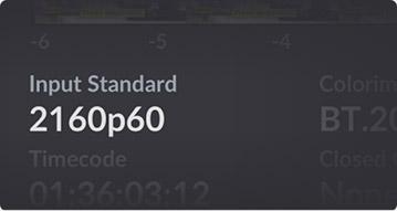 Input Standard