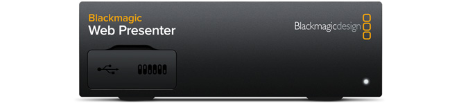 Blackmagic Web Presenter Tech Specs Blackmagic Design