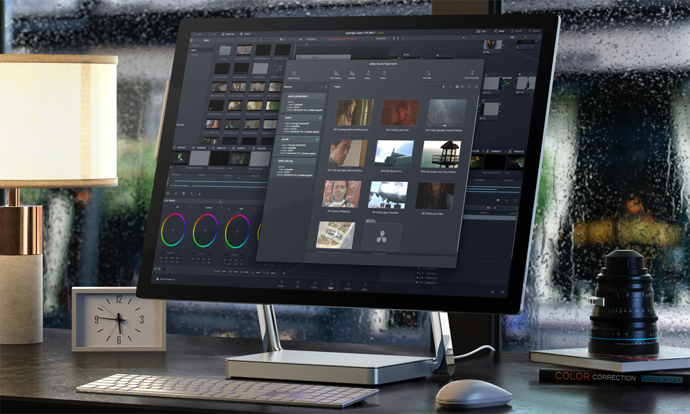 DaVinci Resolve Project Manager