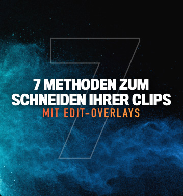 Seven ways to edit your clips