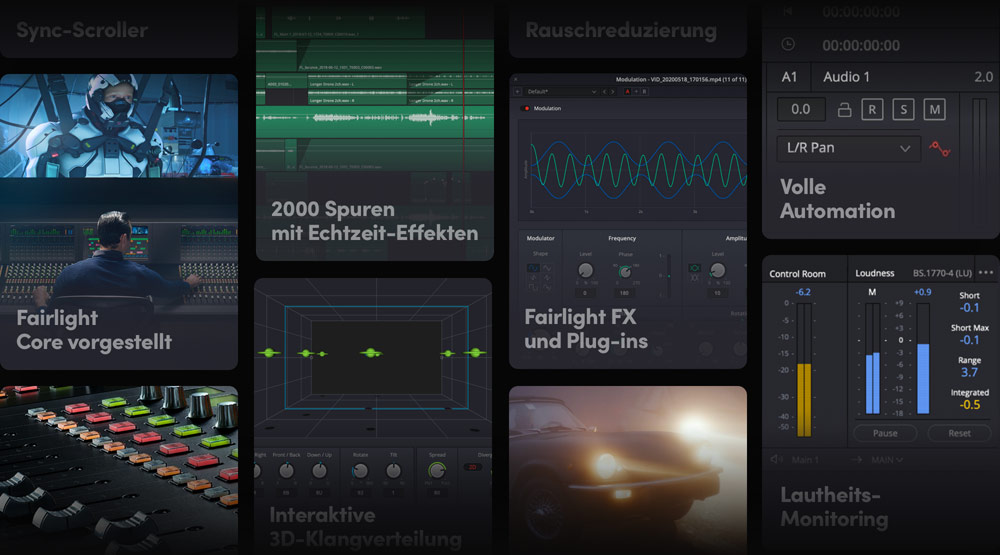 Hundreds of Pro Tools for Audio Post!