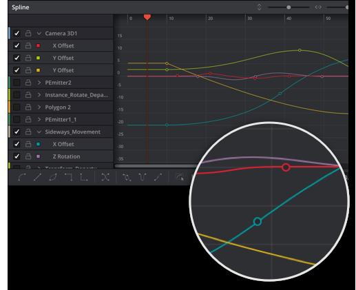 Spline Based Motion Graphics Animation Overlay