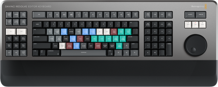Improved DaVinci Keyboard