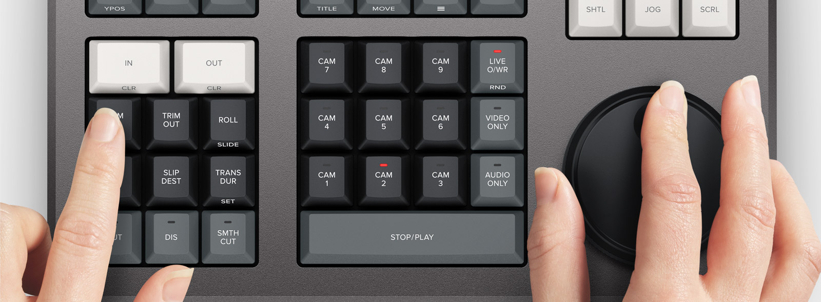 DaVinci Resolve Keyboard
