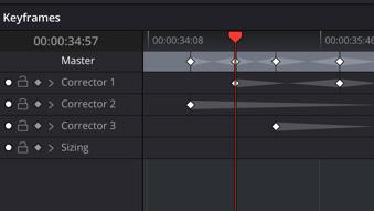 ResolveFX Keyframe Track