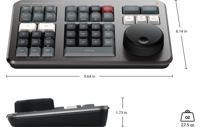 DaVinci Resolve Speed Editor