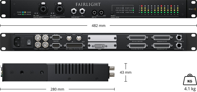 Fairlight Audio Interface