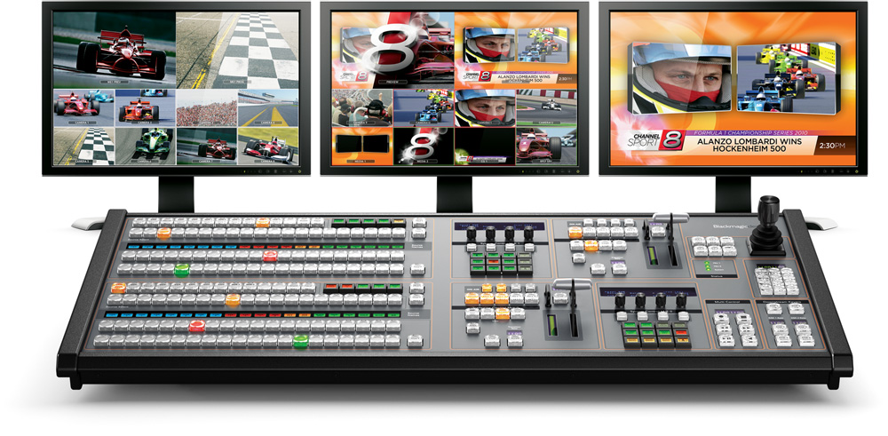 Connecting to Live Production Switchers