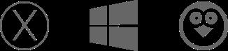 Mac, Windows and Linux