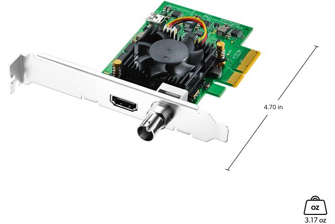 Mini gravador DeckLink 4K