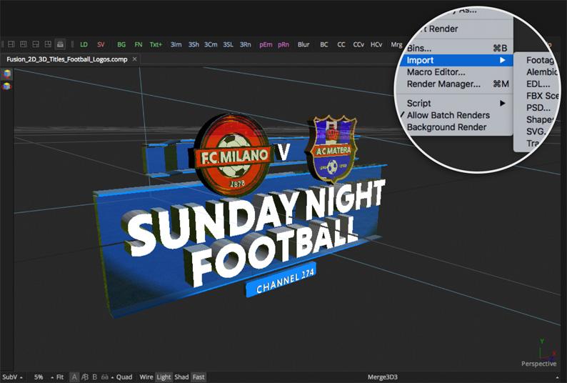 Add 3D Logos