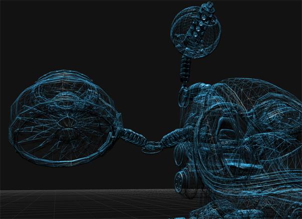 Infinite 3D Workspace