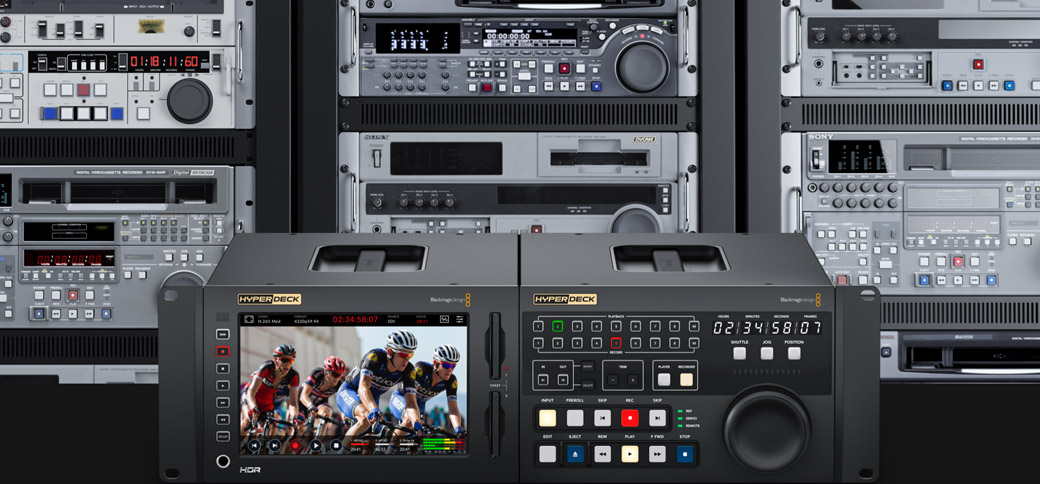 Editing between Tape and HyperDeck
