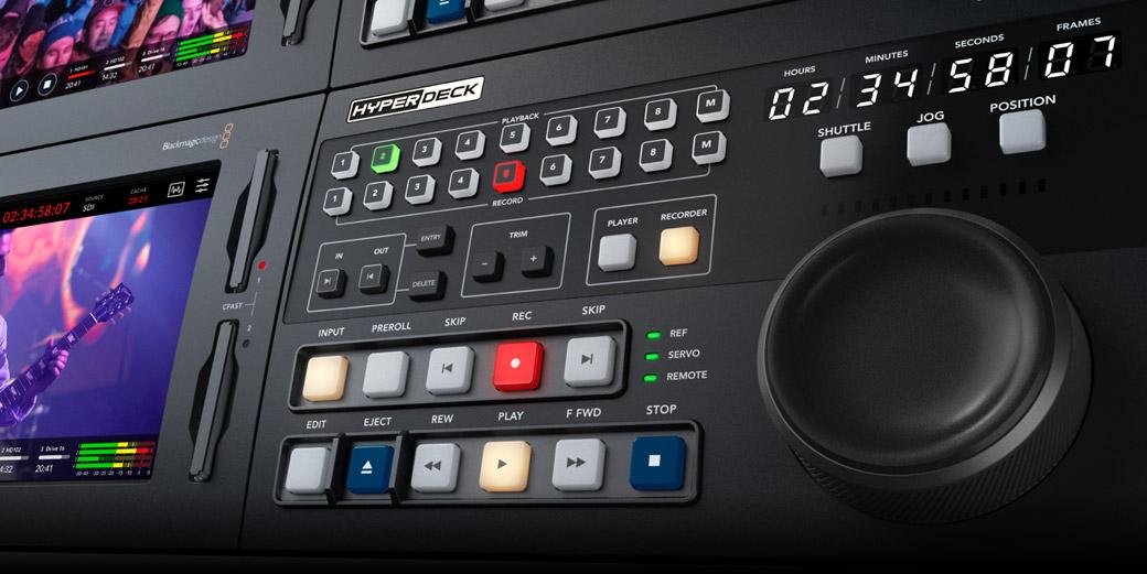 HyperDeck Extreme Control Panel