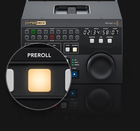 Pre-roll Controls