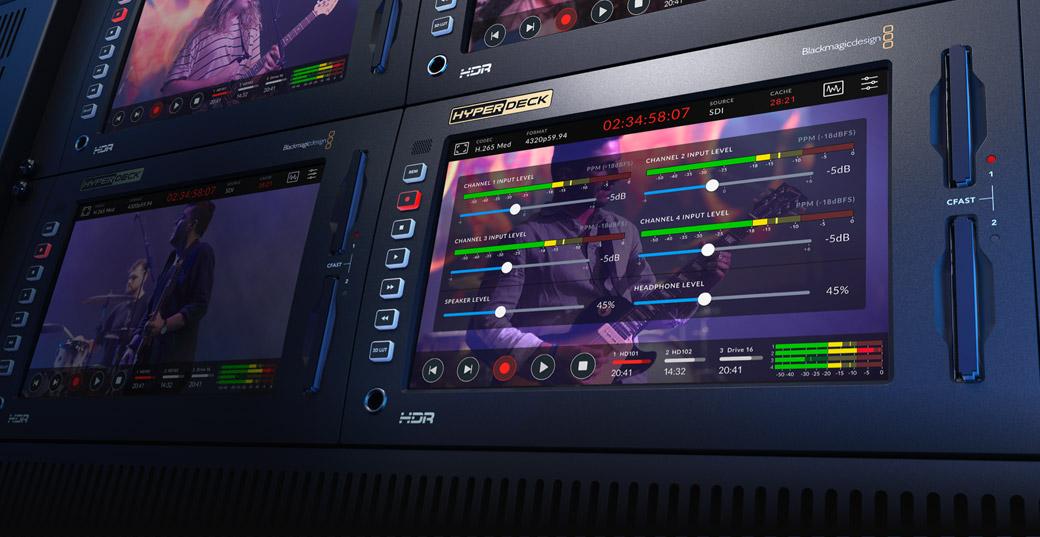 Professional Multi Channel SDI and Analog Audio