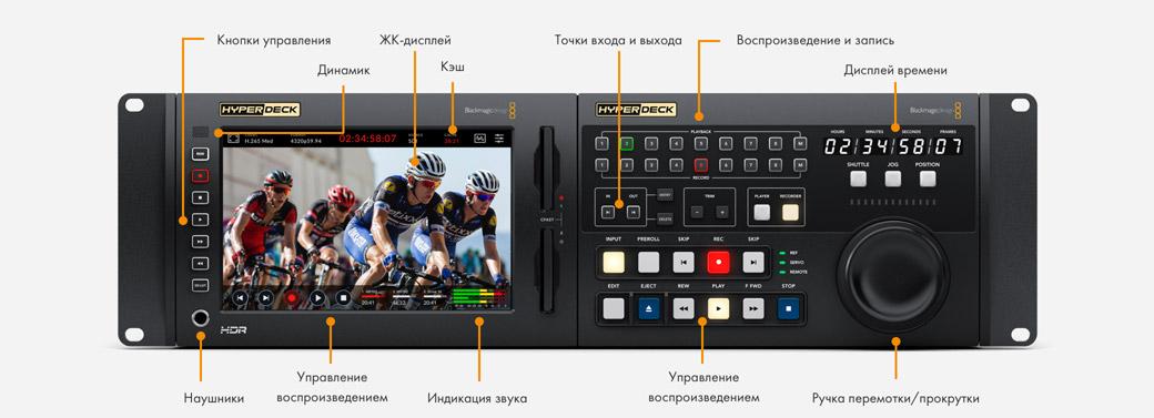 Traditional Broadcast Deck Controls