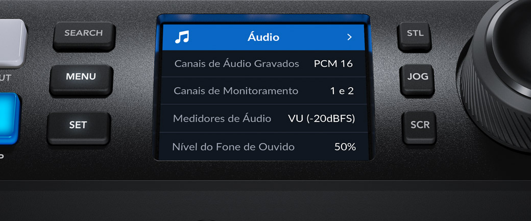 Audio Dark Menu