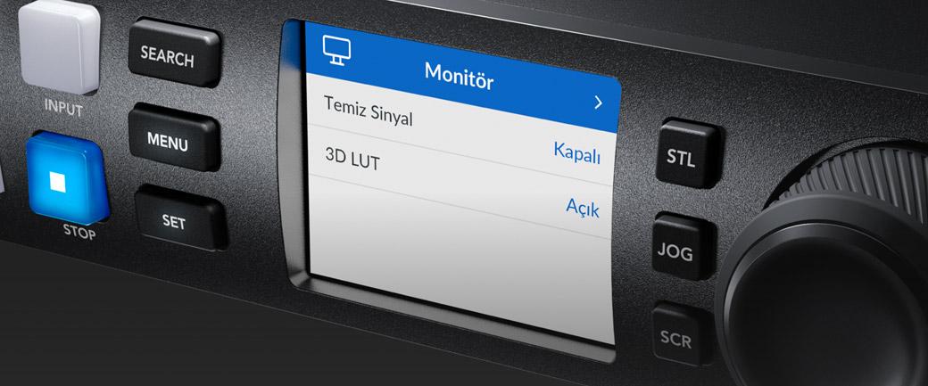 Monitor Menu