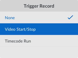 Trigger Record