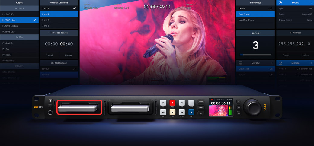Includes the Power of Blackmagic OS
