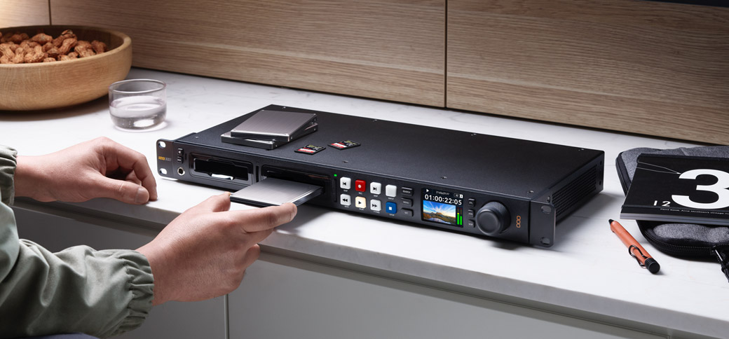 Elegantly Designed Professional Broadcast Deck