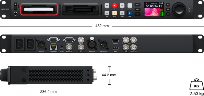 HyperDeck Studio 4K Pro