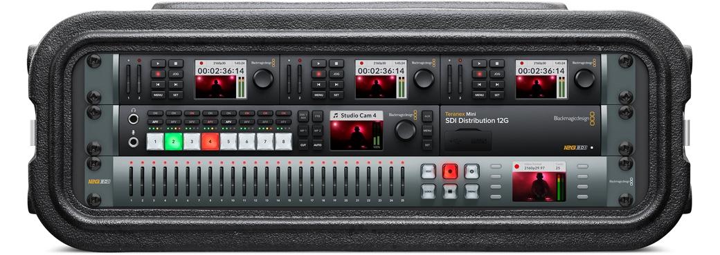 Blackmagic Studio Mini-Portable Broadcast Quality Hyperdeck Video Recorder