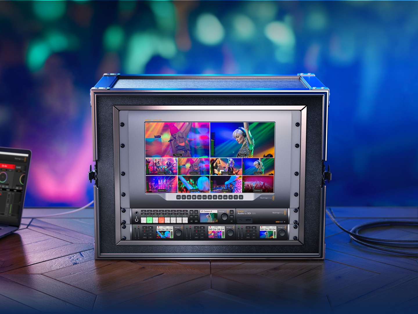 ATEM Television Studio HD Workflow Hero