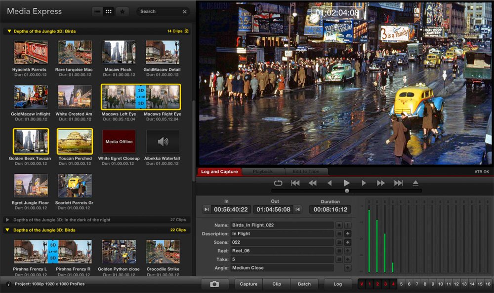 Blackmagic media express software download mac