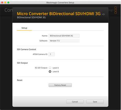 Micro Converters Blackmagic Design
