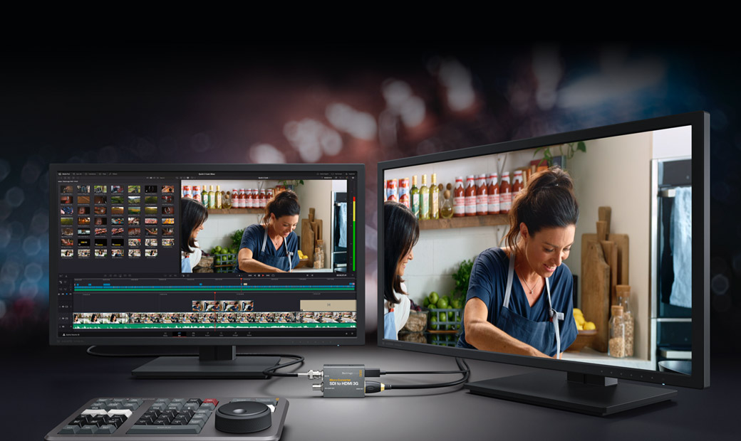 Monitoring with 3D LUTs