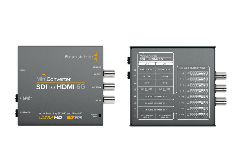 Mini Converters Models Blackmagic Design