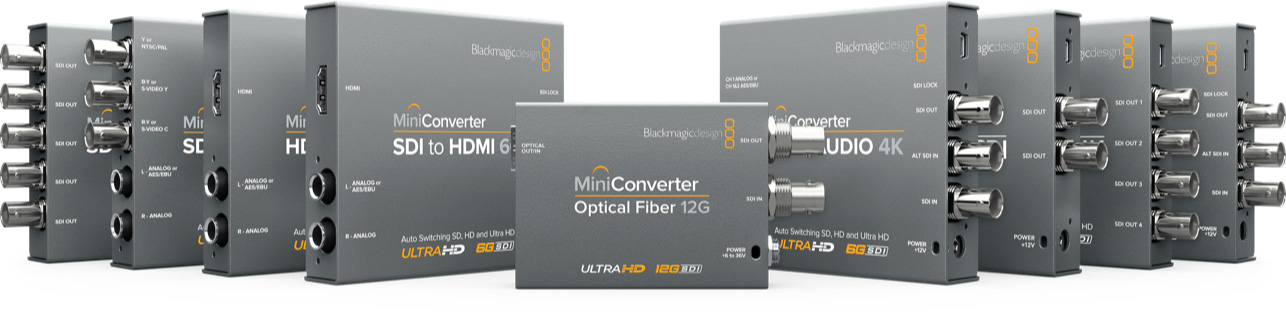 Blackmagic Mini Converters