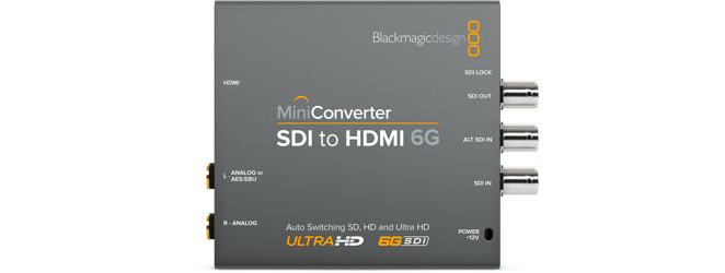 Mini Converter SDI to HDMI 6G
