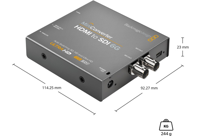Mini Converter HDMI to SDI 6G