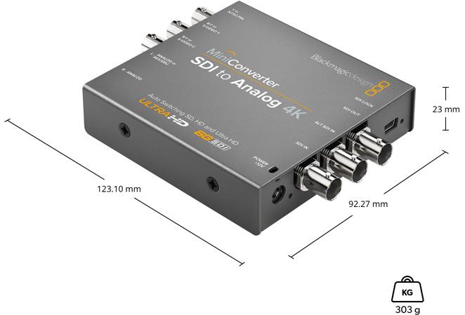 Mini Converter SDI to Analog 4K