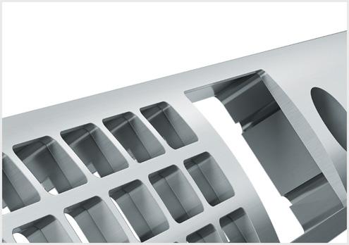 Al - Machined aluminum