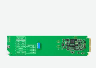 OpenGear Converter Audio to SDI