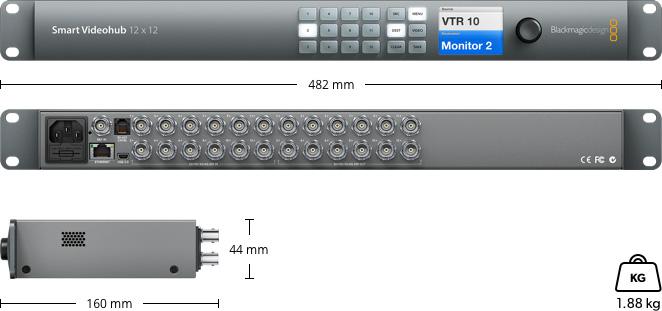 Smart Videohub 12x12
