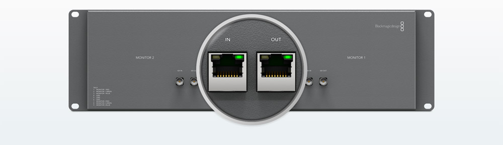 Central Ethernet Control