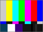 Test patterns - Colors Bars SMPTE