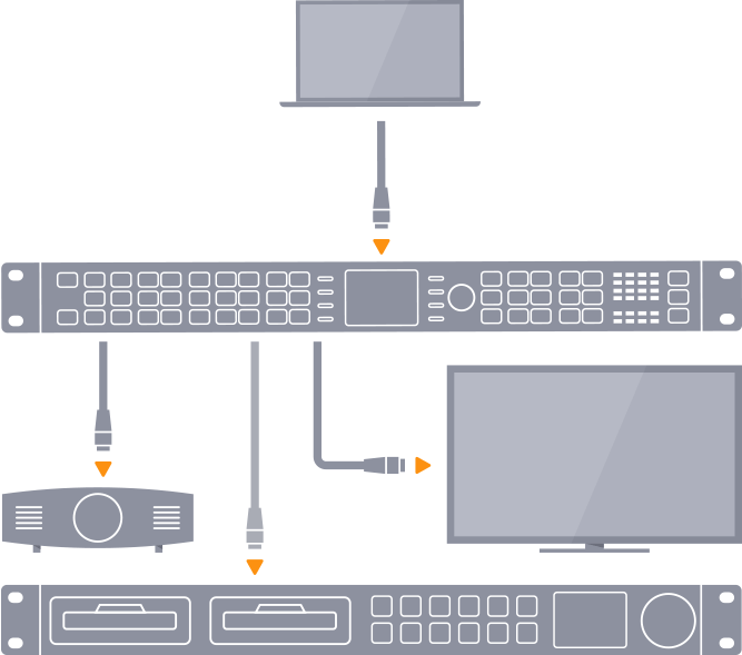 HDMI processing graphic