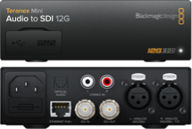 Audio to SDI 12G