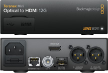 Optical to HDMI 12G
