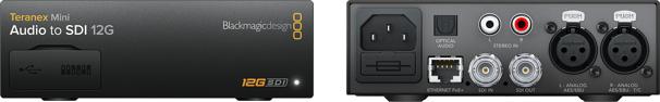 Teranex Mini Audio to SDI 12G